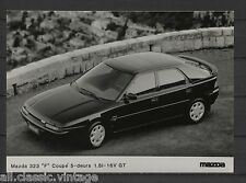 PRESS - FOTO/PHOTO/PICTURE - Mazda 323 F Coupe 5-doors 1.8i-16V GT