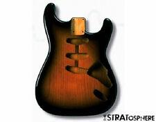 NEW Fender Lic Hardtail Stratocaster BODY Strat 2 Color Sunburst SBFHT-2SB