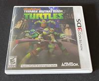 Nintendo 3DS Nickelodeon Teenage Mutant Ninja Turtles Video Game - Untested