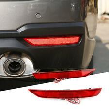 2x LED Rear Bumper Reflector DRL Brake Tail Light For SubaruForester2008-2017