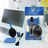 Laptop For LCD Tv Screen Ipad Cleaning In1 Monitor 4 Kit Tablet Lens Cleaner
