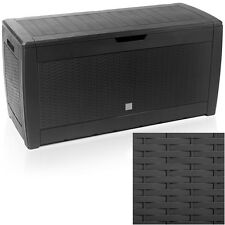 Garden Outdoor Storage Plastic Box Utility Chest Cushion Shed Box 310L Patio