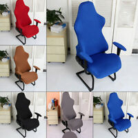 Computer Stretch Swivel Racing Gaming Chair Slipcover Armchair Seat Soft Cover