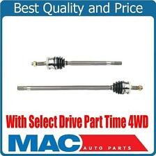GRAND CHEROKEE 1999-2004 Front L & R Axles Select Drive Part Time 4 Wheel Drive