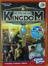 Escape the Lost Kingdom, 3D Hidden Object PC & MAC game NEW SEALED FREE POSTAGE