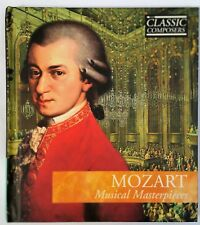 MOZART MUSICAL MASTERPIECES CLASSIC COMPOSERS 11 TRACK CD + BOOK brand new