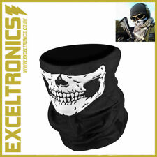 SKELETON GHOST SKULL FACE MASK BIKER BALACLAVA FANCY DRESS COSTUME SKI MASK