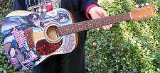 "Original NEIL YOUNG Acoustic Guitar 37"" FOLK ART Signed ROCK Music HP OOAK"