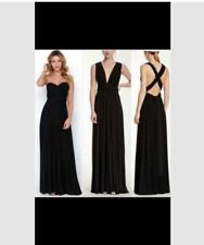 LONG INFINITY DRESS WITH TUBE (BLACK)