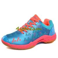 Mens (Tennis/Badminton/Racquetball)Sneakers Indoor Athletics Trainers Shoe 36-45