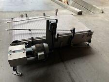 36 X 72 Stainless Steel Packaging Conveyor Table Top