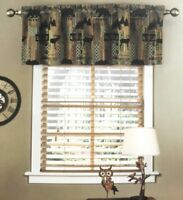 Deer Pine Tree Bear Tapestry Valance Curtain Brentwood Cabin Camp Hunting Lodge