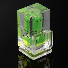 Hot Shoe Two Axis Double Bubble Spirit Level Mount For Camera SLR DSLR Canon Pop