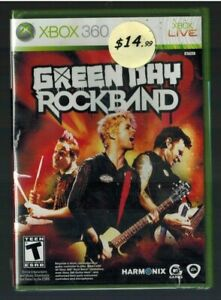 Green Day: Rock Band (Microsoft Xbox 360, 2010) new sealed