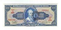1 Cruzeiro Novo / 1000 Cruzeiros UNC Brasilien 1967 C121 / P.187b - Brazil