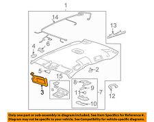 Chevrolet GM OEM 06-13 Impala Sunvisor-Sun Visor Left 15840704