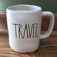 New Rae Dunn By Magenta TRAVEL Coffee Mug Farmhouse LL