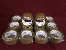 """14 Rolls Brown/Tan Packaging Tape - 2""""x110 Yards(330' Feet) Sealing Packing Tape"""
