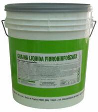 5 kg guaina liquida fibrorinforzata grigia impermeabilizzante liquido