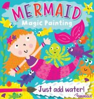 MERMAID MAGIC PAINTING COLOURING ART BOOK FOR CHILDREN NO MESS JUST USE WATER