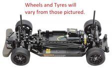 Tamiya 4WD TT-02 RC Chassis Kit Car (No Body/ESC) (Brown Box)