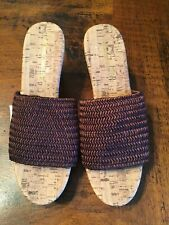 Montego Bay Cork Wedge Sandal Brown 9 1/2M  NEW WITH TAG PERFECT