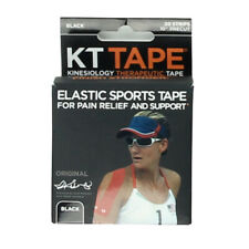 "KT TAPE Elastic Sports Tape Pain Relief And Support 10""precut Pieces 10 count"