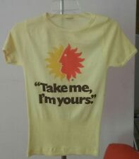 National Airlines Vintage 70s Stedman Fashion T Shirt Take Me I'm Yours Sun King