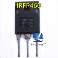 10Pcs IRFP460 20A 500V Power MOSFET N-Channel Transistor TO-247 new