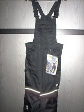 OVP schwarze Latzhose Biloxxi Größe 46 aus leichtem/robustem Baumwollmischgewebe