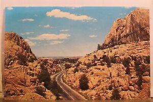 Arizona AZ Prescott Granite Dells Oak Creek Canyon Postcard Old Vintage Card PC