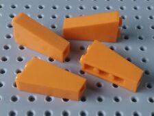 Lego Slope Inverted 75° 2x1x3 [2449] Orange x4