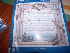"Janlynn APACHE WEDDING BLESSING Counted Cross Stitch Kit 15"" x 14"""