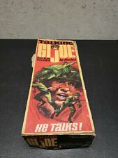 Vintage 1967 GI Joe Talking Action Soldier Box Only!