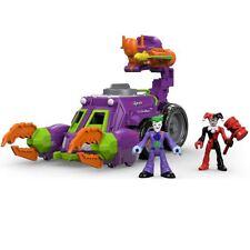 Imaginext DWV56 DC Super Friends the Joker and Harley Quinn Battle Vehicle Toy