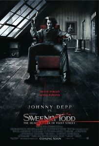 Sweeney Todd 2007 Poster in A0-A1-A2-A3-A4-A5-A6-MAXI sizes C202
