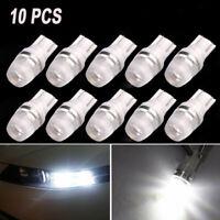 10Pcs 12V W5W 192 168 194 T10 Wedge LED Light Bulbs Super White High Power NEW