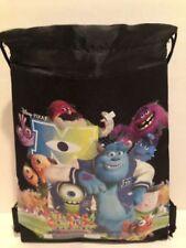 Disney Pixar Monsters Inc Black SLING BACKPACK / BAG SACK