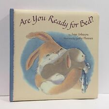 Are You Ready for Bed by Johnson Jane Board Book Illust Free Shipping