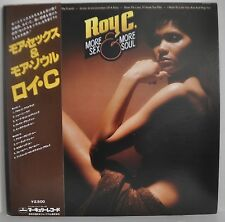 Roy C. More Sex & More Soul Japan LP 1978 Nippon Phonogram RJ-7342 Insert Obi