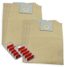 10 x CLEANFIX Vacuum Cleaner Hoover Bags Canister S10 Darenas S12 + Fresheners