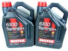 MOTUL 6100 10w40 Sinergia + ACEITE DE MOTOR 10w-40 MB VW RENAULT OPEL 2x 5