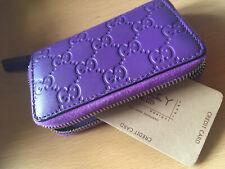 !! Exquisit und NEU !! Gucci Karten-Etui Card Holder lila / violett