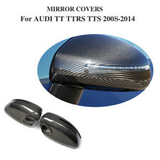 Carbon Fiber Full Replacement Side Mirror Covers Fit for Audi TT TTRS TTS 08-14