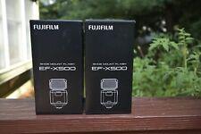 Two Fujifilm EF-X500 TTL Flash