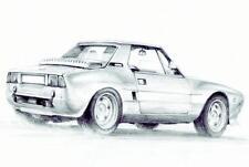 Blechschild 20 x 30 cm, Fiat, Nostalgie