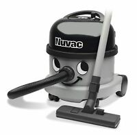 Numatic Nuvac Commercial Vacuum Cleaner Grey 620w 12.5m Cord