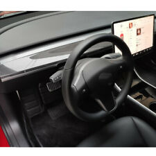 Carbon Style Center Console Interior Dashboard Panel Trim fit For Tesla Model 3