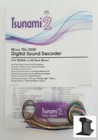 Soundtraxx ~ New 2020 ~ Tsunami 2 ~ TSU-2200 GE Diesel Sound Decoder ~ 885006