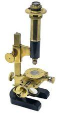 "Antique rare brass ""Microscope à Micromètres"" by Thury & Amey à Genève, ca. 1870"
